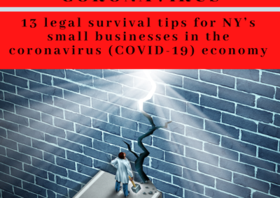 Small Business Legal Coronavirus