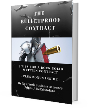 New York Business Attorney Business Bullet Contract